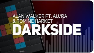 Playing DARKSIDE | Alan Walker ft. Au/Ra and Tomine Harket  on SUPER PADS LIGHTS - KIT ILLUMINATI