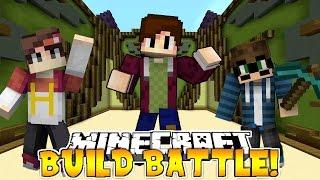 BUILD BATTLE BARENG HITZEED CH & NAUVALKYRIE - Minecraft Indonesia