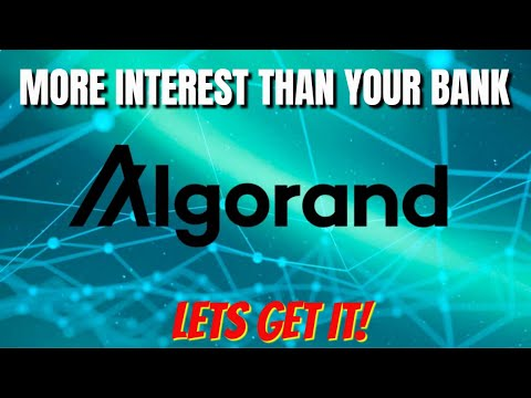 ALGO | ALGORAND Blockchain – Smart Contracts, DeFi and Staking Rewards 💲💲