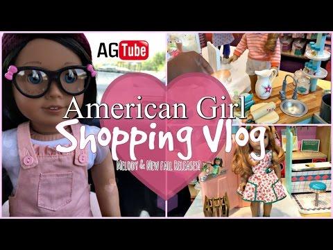 AMERICAN GIRL DOLL STORE DALLAS SHOPPING VLOG! Melody, New Kitchen & More! AGP Dallas Episode 2