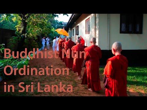 Thai Buddhist Nun Ordination in Sri Lanka