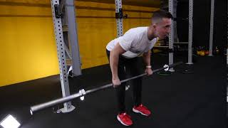 Barbell Over Hand Bent Over Row