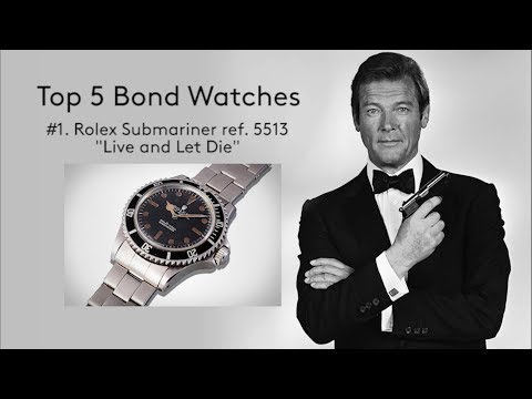Friday Live: Ep. 6 – Ranking The Top Five James Bond Watches, A Look Into The Safe, And Live Q&A