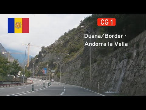 [AND] CG-1 La Farga de Moles - Andorra la Vella