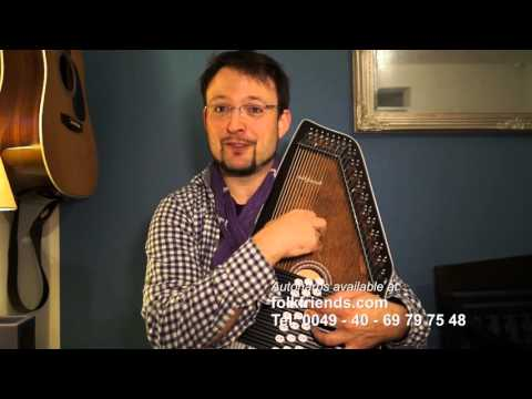 Folkfriends Autoharp 21 chords - historical aspects of the autoharp and more