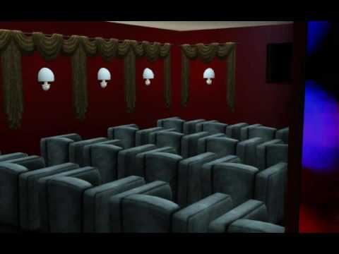 sims 3 movie theatre by summerslam22 youtube