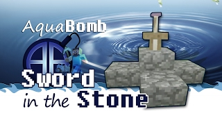 How to Build the Sword in the Stone in Minecraft WITH MUSIC!