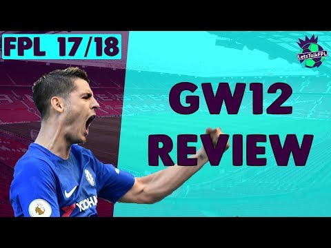 WILDCARD SUCCESS | Gameweek 12 Review | Fantasy Premier League 2017/18