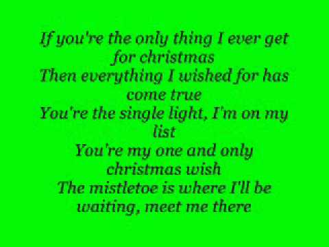 Justin Bieber - Only Thing I Ever Get For Christmas {lyrics}