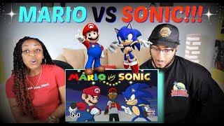 """Verbalase """"Mario Vs Sonic Cartoon Beatbox Battles"""" REACTION!!!"""