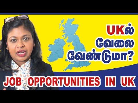 UKல் வேலை வேண்டுமா?| job opportunities in UK|Tamil vlog