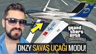 GTA SAN ANDREAS 2018 DNZY MARKA SAVAŞ UÇAĞI MODU