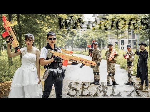 LTT Nerf War : Couple SEAL X Warriors Nerf Guns Fight Dr.Lee Crazy Single Attack Perfect Combo