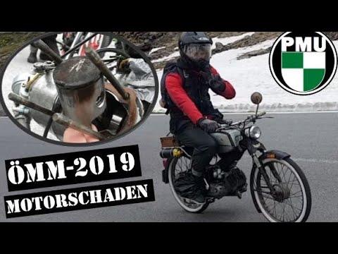 Aufs Timmelsjoch mit Motorschaden! Ötztaler Moped Marathon ÖMM