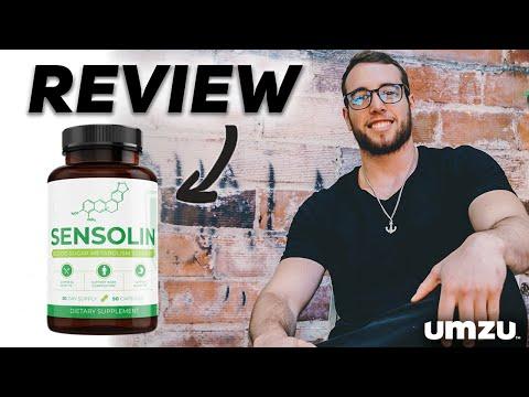 UMZU Sensolin Natural Blood Sugar Support Supplement - Supplement Review