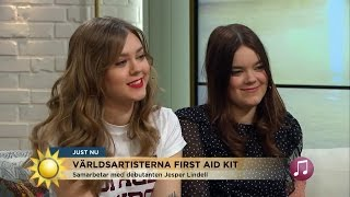 First Aid Kit Interview [Eng Subs] TV4 Nyhetsmorgon 2017