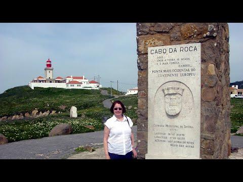 Cabo da Roca, Portugal - O extremo ocidental da Europa.