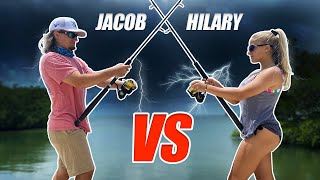 Hilary vs. Jacob - HUGE THUNDERSTORM is COMING FAST!