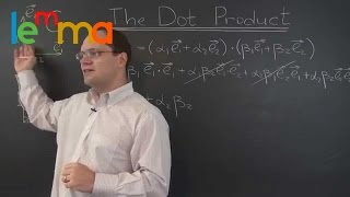 Linear Algebra 20k: Two Derivations of the Dot Product Component Space Expression