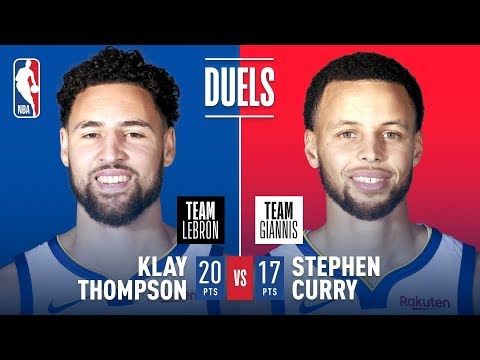 Teammates Turned Opponents; Steph & Klay Duel In Charlotte   2019 NBA All-Star