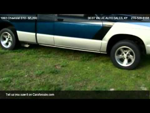 1993 chevrolet s10 tahoe for sale in horse cave ky 42749 youtube. Black Bedroom Furniture Sets. Home Design Ideas