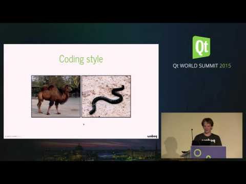 QtWS15- using namespace std; , Olivier Goffart, Woboq GmbH