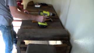 Reclaimed Lumber Workbench