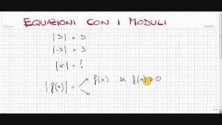 Equazioni con modulo