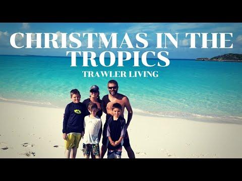 SHIPPING into the Bahamas || TROPICS of Cancer Beach || Georgetown, Exuma || Trawler Living || S2E27