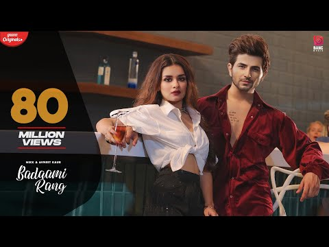 Badaami Rang (Official HD Video) Nikk Ft Avneet Kaur | Ikky | Bang Music | Latest Punjabi Songs 2020