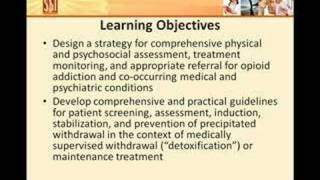 Nursing Management with Buprenorphine Course Introduction
