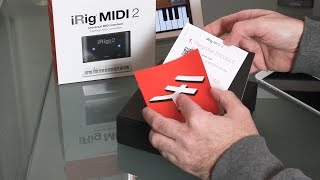 iRig Midi 2 Interface for iOS - unboxing and review
