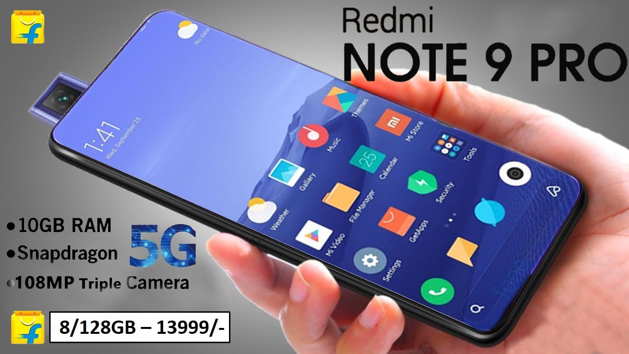Redmi Note 9 Pro 108mp Camera 5g Support Pop Up Camera Unboxing Redmi Note 9 Pro 2020 Youtube
