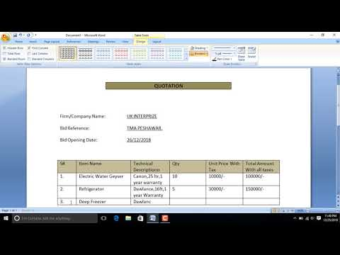 How To Make A Quotation