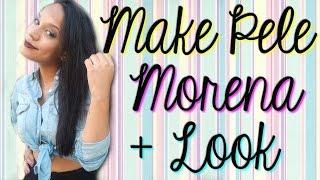 Make pele morena + Look com a amiga.