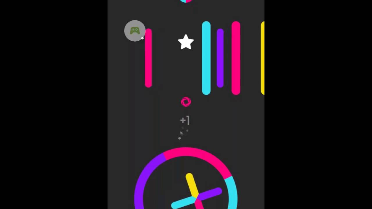 Color game trick - Color Switch Trick To Score 100 Game Play 2