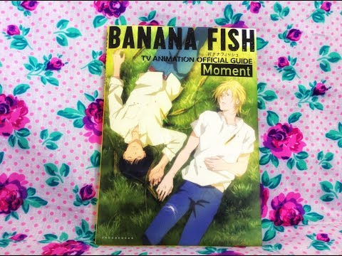 Reseña - Banana Fish Moment - TV Animation Official Guide