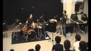 [2007-05-12] Seminario basso e batteria con Roberto Pascucci e Eric Cisbani - Villa Estense