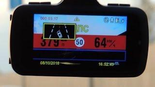 Тест-драйв видеорегистратора  Sho-me A7 GPS/GLONASS.