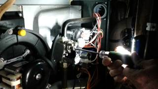 how to check and adjust gas pressure on gas valve