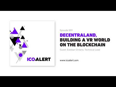 Decentraland — building a virtual reality world on the Ethereum blockchain.