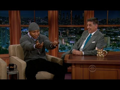 Late Late Show with Craig Ferguson 11/8/2012 LL Cool J, Naomie Harris, Sutton Foster