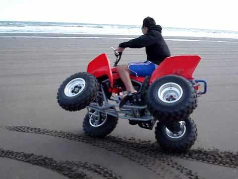 ATV FREESTYLE HONDA TRX 250 EX BALNEARIO MARISOL VERANO 2010