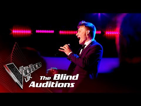 Shane McCormack 'Moondance': Blind| The Voice UK 2018