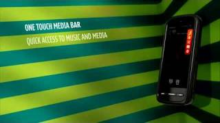 NOKIA 5800 XPRESSMUSIC TUBE UNLOCKED MOBILE PHONE ADVERTISEMENT COMMERCIAL DEMO