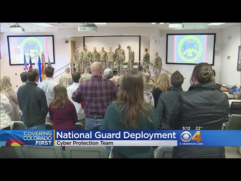 Colorado National Guard Troops Deploy For Cybersecurity Mission