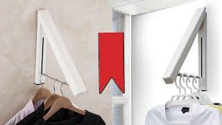 Складная вешалка для кухни, ванная, квартира, гараж | алиэкспресс обзор
