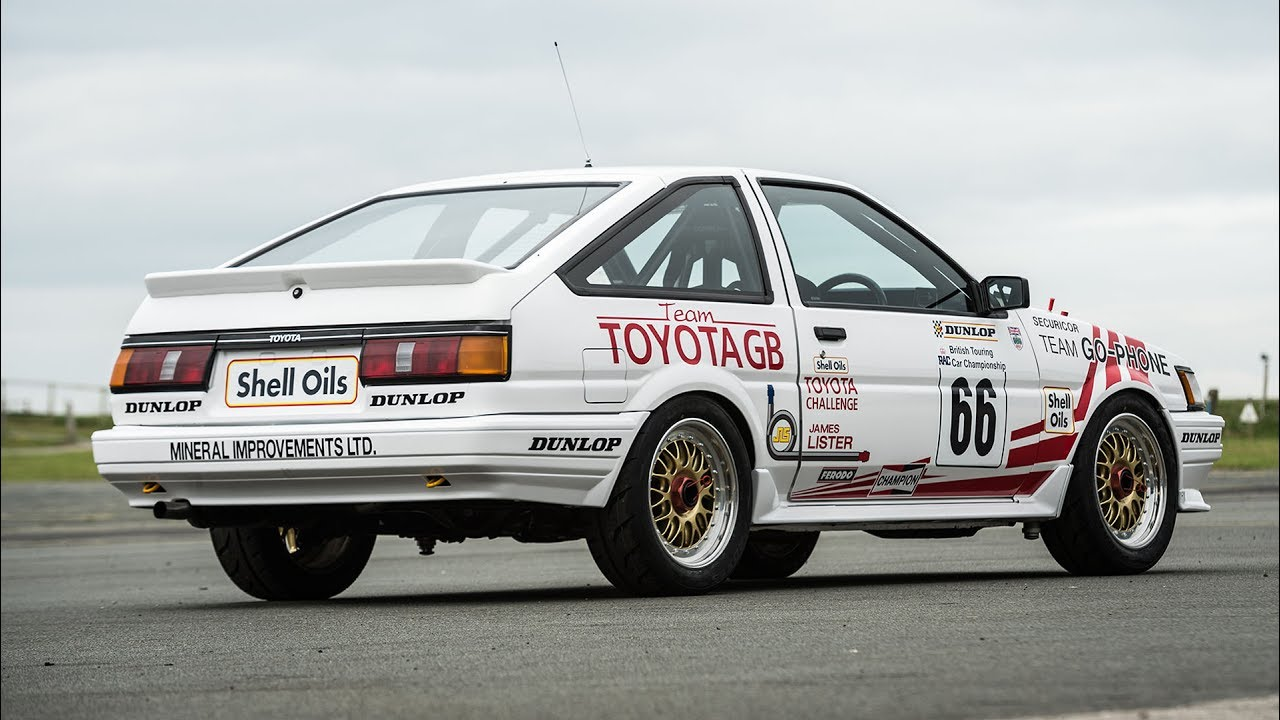 30 years on toyota 39 s btcc winning corolla gt coupe youtube. Black Bedroom Furniture Sets. Home Design Ideas