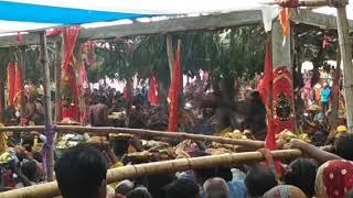 Meru jatra,  odisha festival , kali temple - aalapura , dist - ganjam (odisha) India  14/04/2018