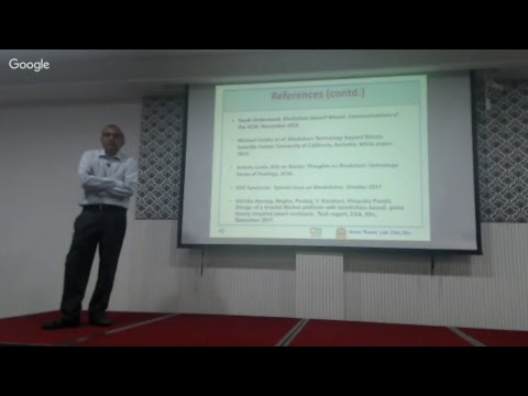 Blockchain: Promise & Prospects for Industrial & Societal Applications by Dr. Y. Narahari